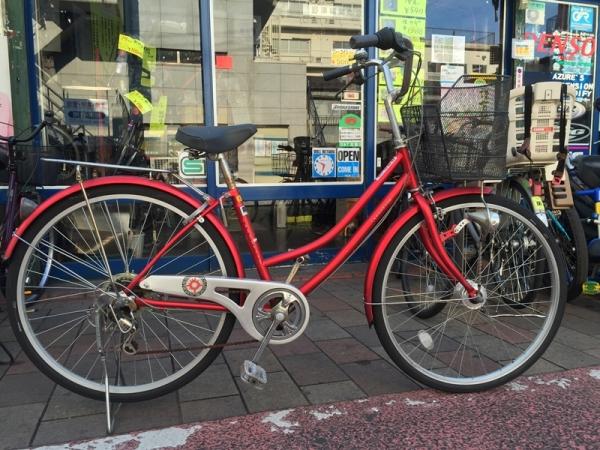 【2016年1月9日発売】 リサイクル自転車入荷!