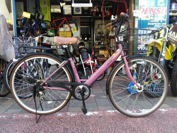 【2016年4月30日発売】 リサイクル自転車入荷!